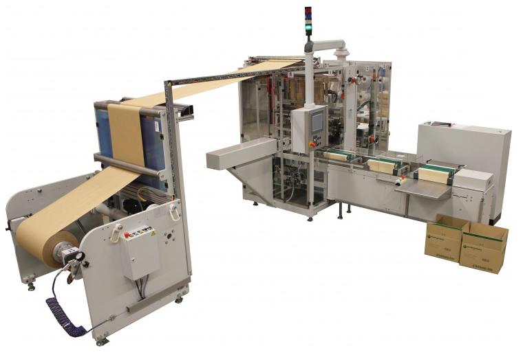 Papierverpakkingsmachine
