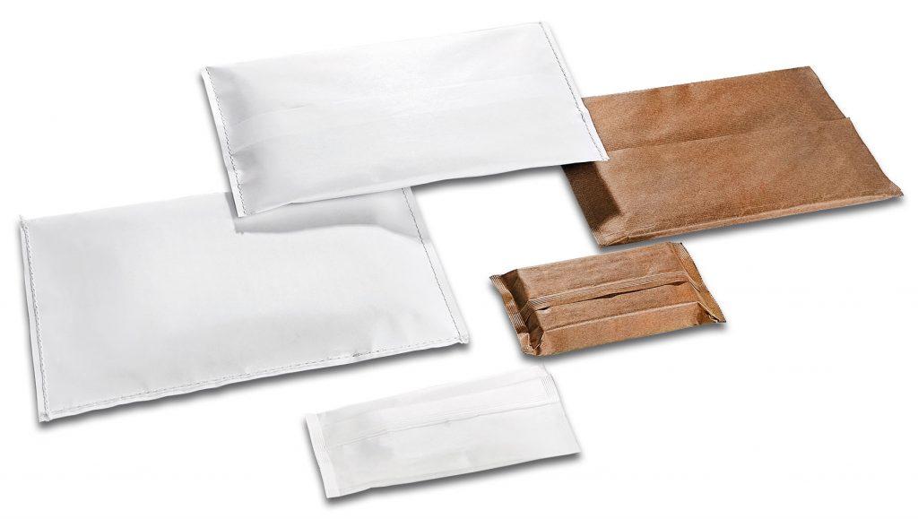Voorbeelden papier verpakken